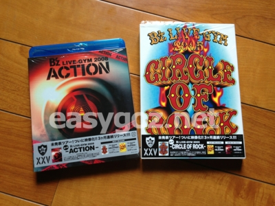 DVD「CIRCLE OF ROCK」、Blu-ray「ACTION」観ました。