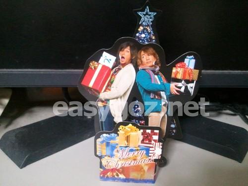 B'z Party 2010年クリスマスカード発送完了