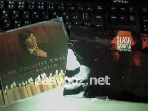 「SAHARA feat.稲葉浩志」「MR.VOCALIST X'MAS」本日発売。