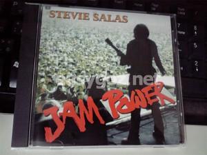 稲葉さん参加のスティーヴィー・サラスNEWアルバム「JAM POWER」買いました。