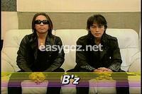 B'zがCDTVに出演