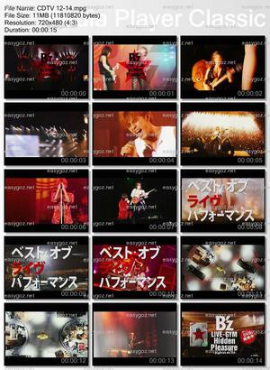 DVD「B'z LIVE-GYM Hidden Pleasure ~Typhoon No.20~」CM第4弾