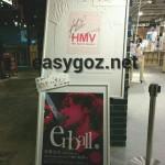渋谷HMVの稲葉さんのサインを見てきた。/ ラジオコメント出演追加