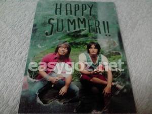 B'z Party 2010年暑中見舞い 発送完了