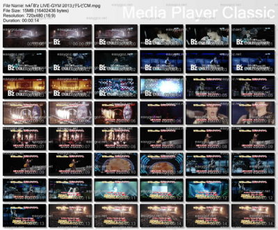 tvkでB'z LIVE-GYM 2013 日産スタジアムのテレビCMオンエア
