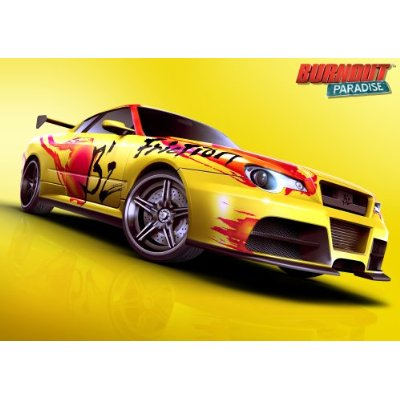 『FRICTION』収録&『B'z CAR』も登場のゲームソフト「バーンアウト パラダイス」発売決定