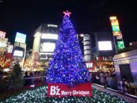B'z渋谷ツリーの紹介記事