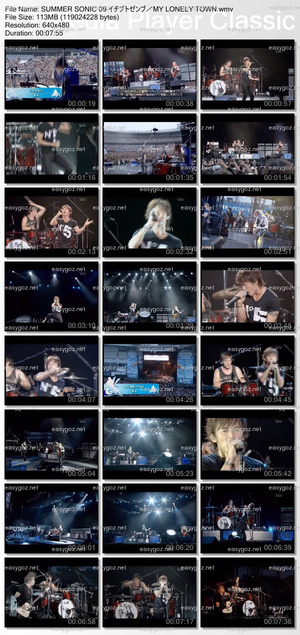 スカパー「MUSIC ON! TV HD Special Program SUMMER SONIC 09 ダイジェスト」