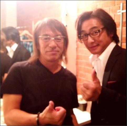 片岡愛之助さんのブログに松本さんとの2ショット写真ふたたび