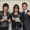 ドリカム中村さんのブログにB'zとの3ショット写真掲載
