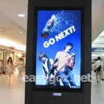 新宿駅のB'z「ペプシネックス」夏バージョンの広告を見てきた。